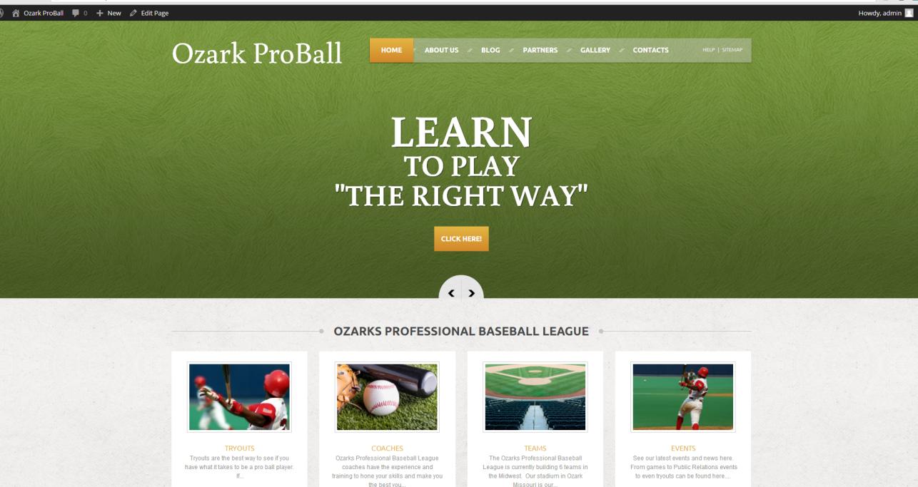 Ozark Pro Baseball, Suit7 Development
